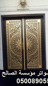 باب حديد ليزر