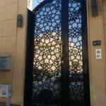 حداد أبواب حديد ليزر في الرياض تركيب ابواب ليزر حديد
