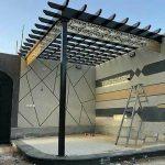 مظلات الرياض - تركيب مظلات سيارات برجولات خشب