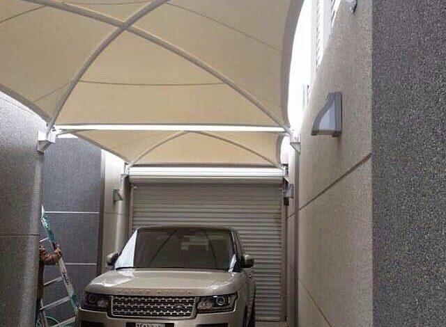 الرياض مظلات سيارات
