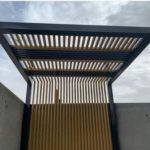 مظلات أسطح المنازل